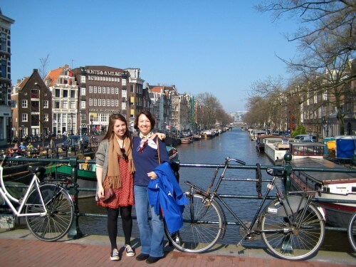 Amsterdam is a great walking city, but be careful of the bike riders.  They ALWAYS have the right of way.