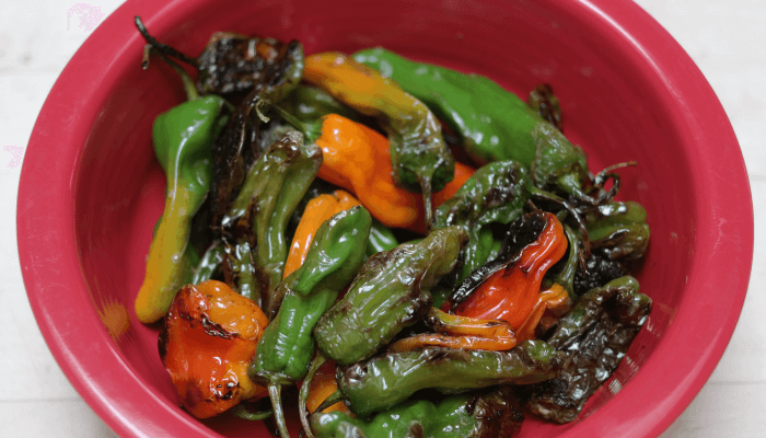 Blistered Shishito (or Padron) Peppers