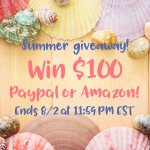 $100 Summer Giveaway!
